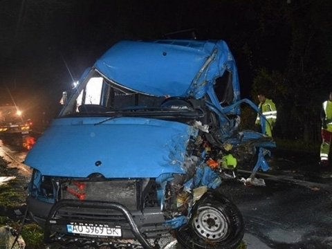 Two Ukrainian citizens killed in road accident in Slovakia